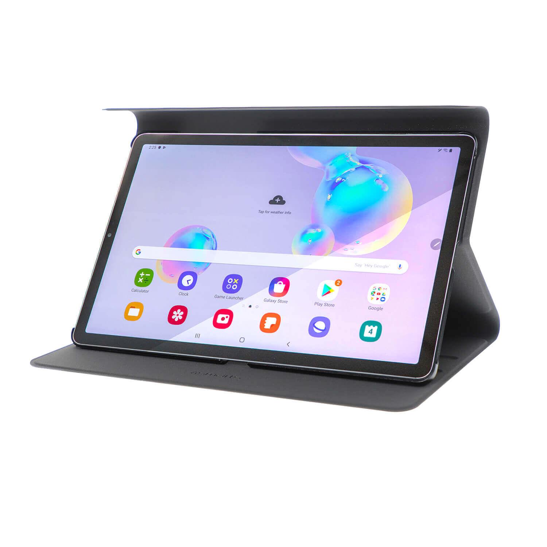 4smarts Flip Case DailyBiz — кожен калъф с магнитно захващане за Samsung Galaxy Tab S6 (черен) - 1