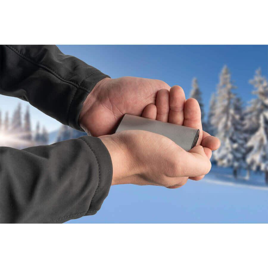 4smarts Hand Warmer Powerbank COSY 2000mAh — джобна външна батерия и нагревател за ръце (черен) - 4