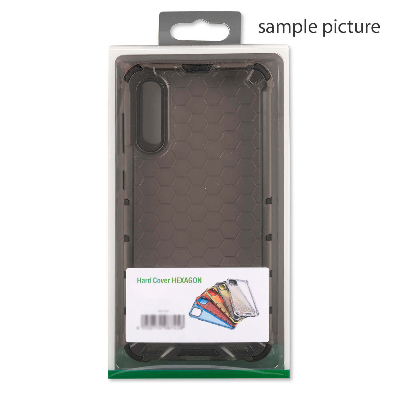 4smarts Hard Cover HEXAGON Case — удароустойчив хибриден кейс за iPhone 11 (сив) - 1