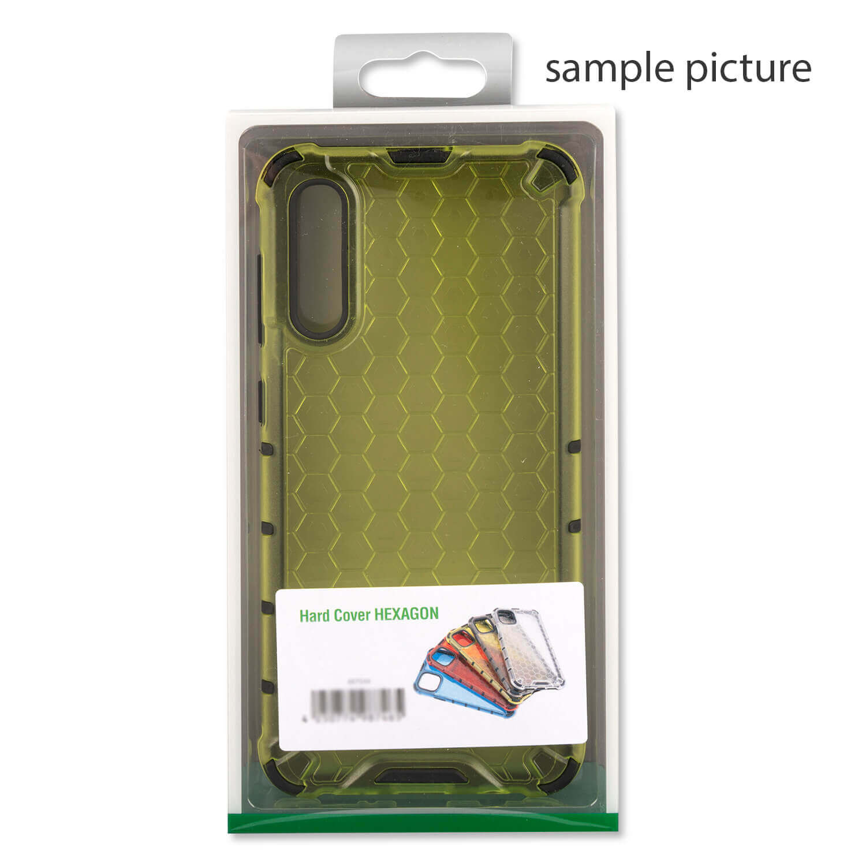 4smarts Hard Cover HEXAGON Case — удароустойчив хибриден кейс за iPhone 11 (жълт) - 1