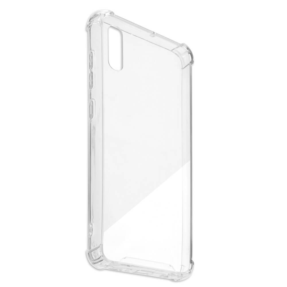 4smarts Hard Cover Ibiza — хибриден удароустойчив кейс за Samsung Galaxy A10 (прозрачен) - 3