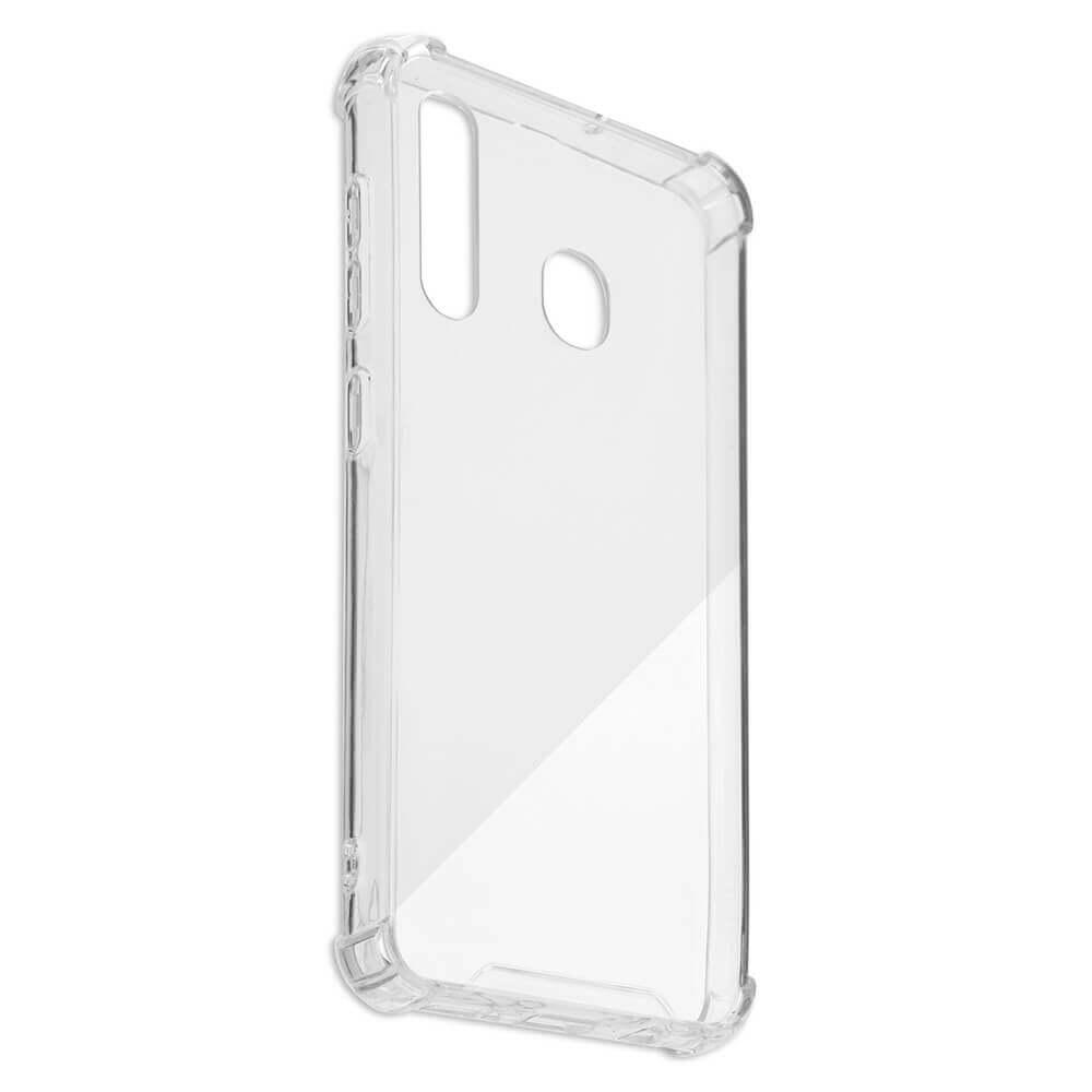 4smarts Hard Cover Ibiza — хибриден удароустойчив кейс за Samsung Galaxy A20 (прозрачен) - 2