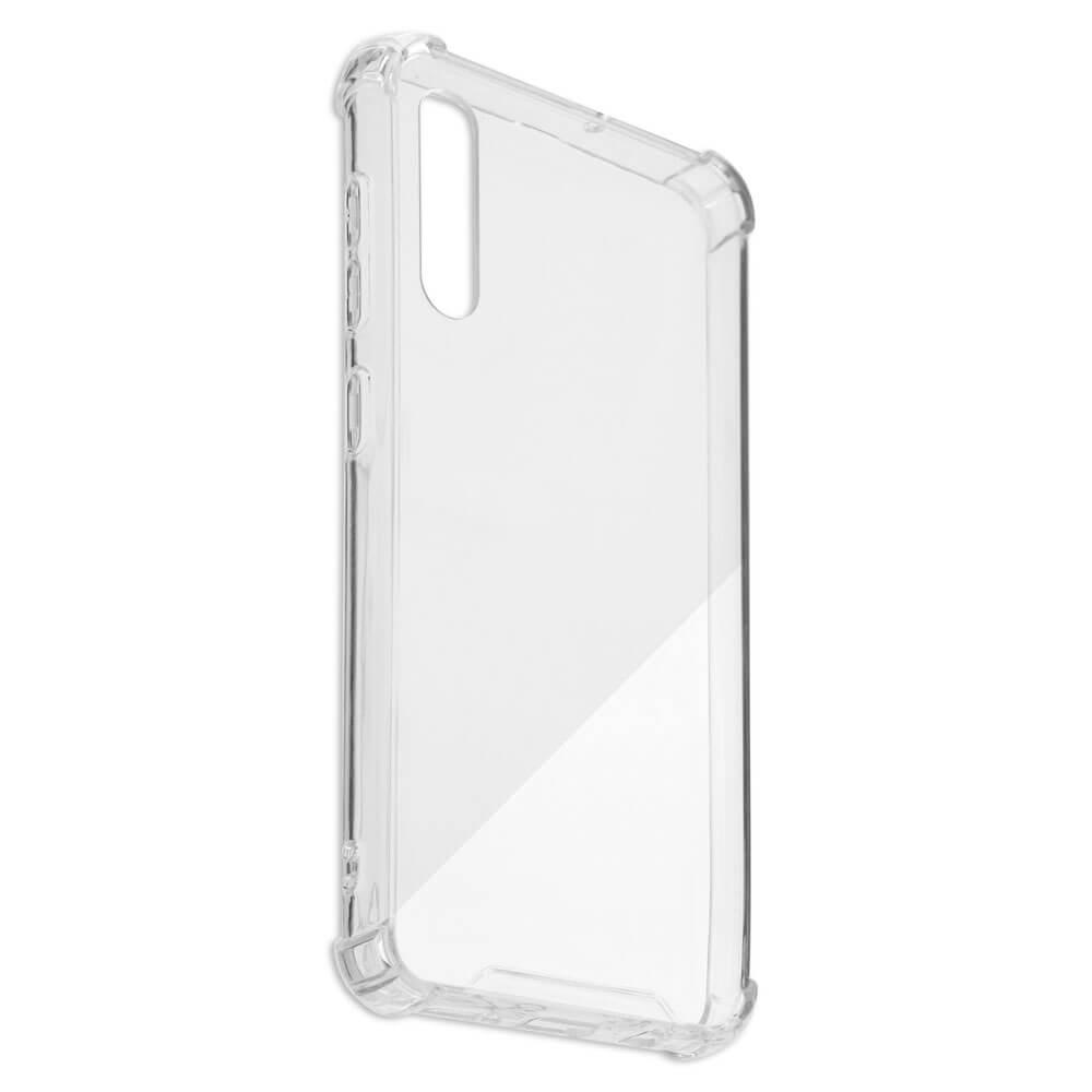 4smarts Hard Cover Ibiza — хибриден удароустойчив кейс за Samsung Galaxy A50 (прозрачен) - 3