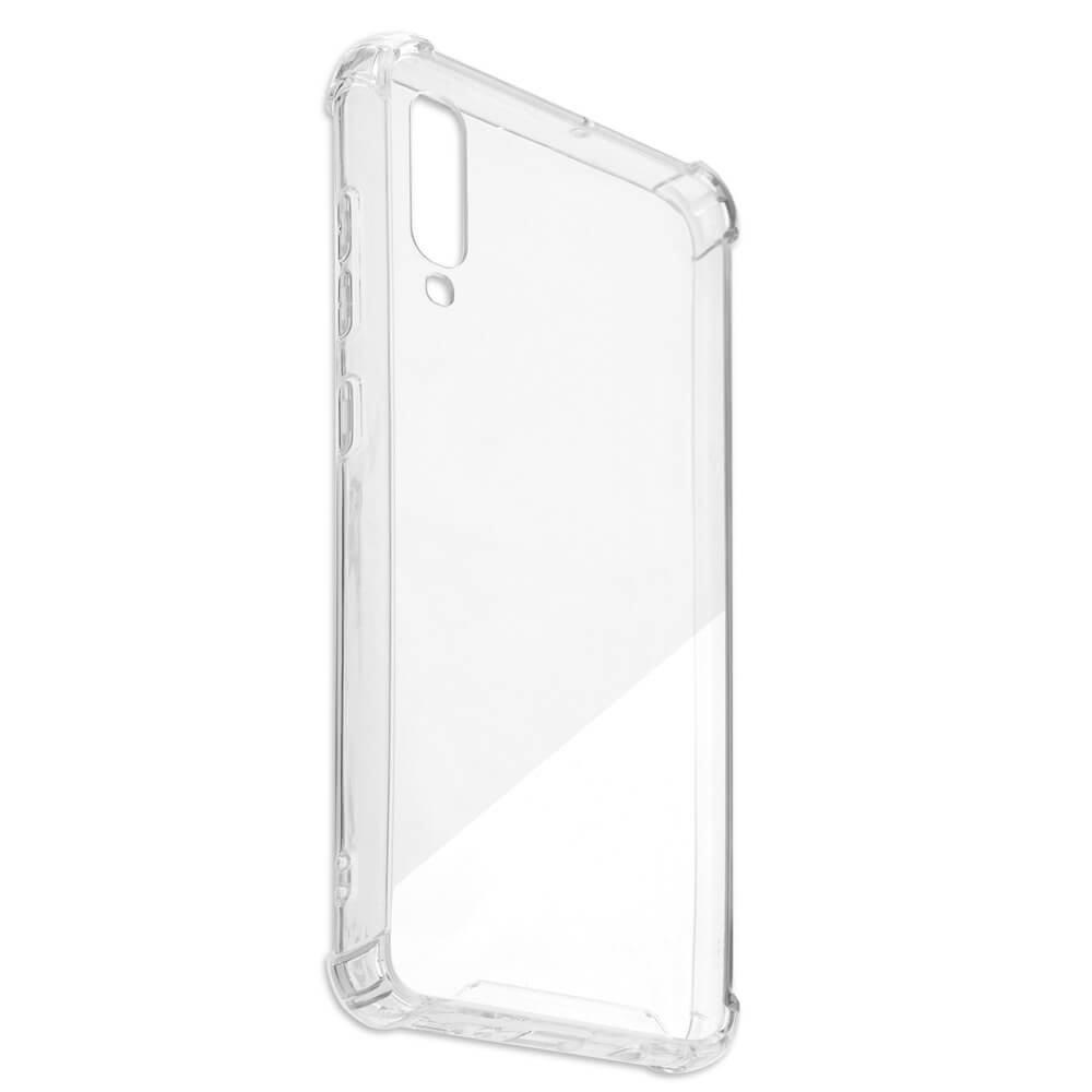 4smarts Hard Cover Ibiza — хибриден удароустойчив кейс за Samsung Galaxy A70 (прозрачен) - 4