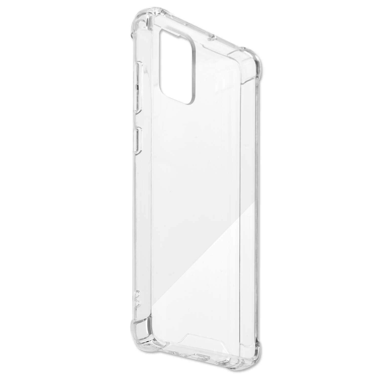 4smarts Hard Cover Ibiza — хибриден удароустойчив кейс за Samsung Galaxy A71 (прозрачен) - 2