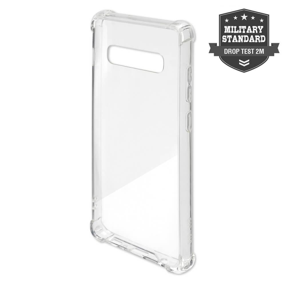 4smarts Hard Cover Ibiza — хибриден удароустойчив кейс за Samsung Galaxy Note 10, Note 10 5G (прозрачен) - 1