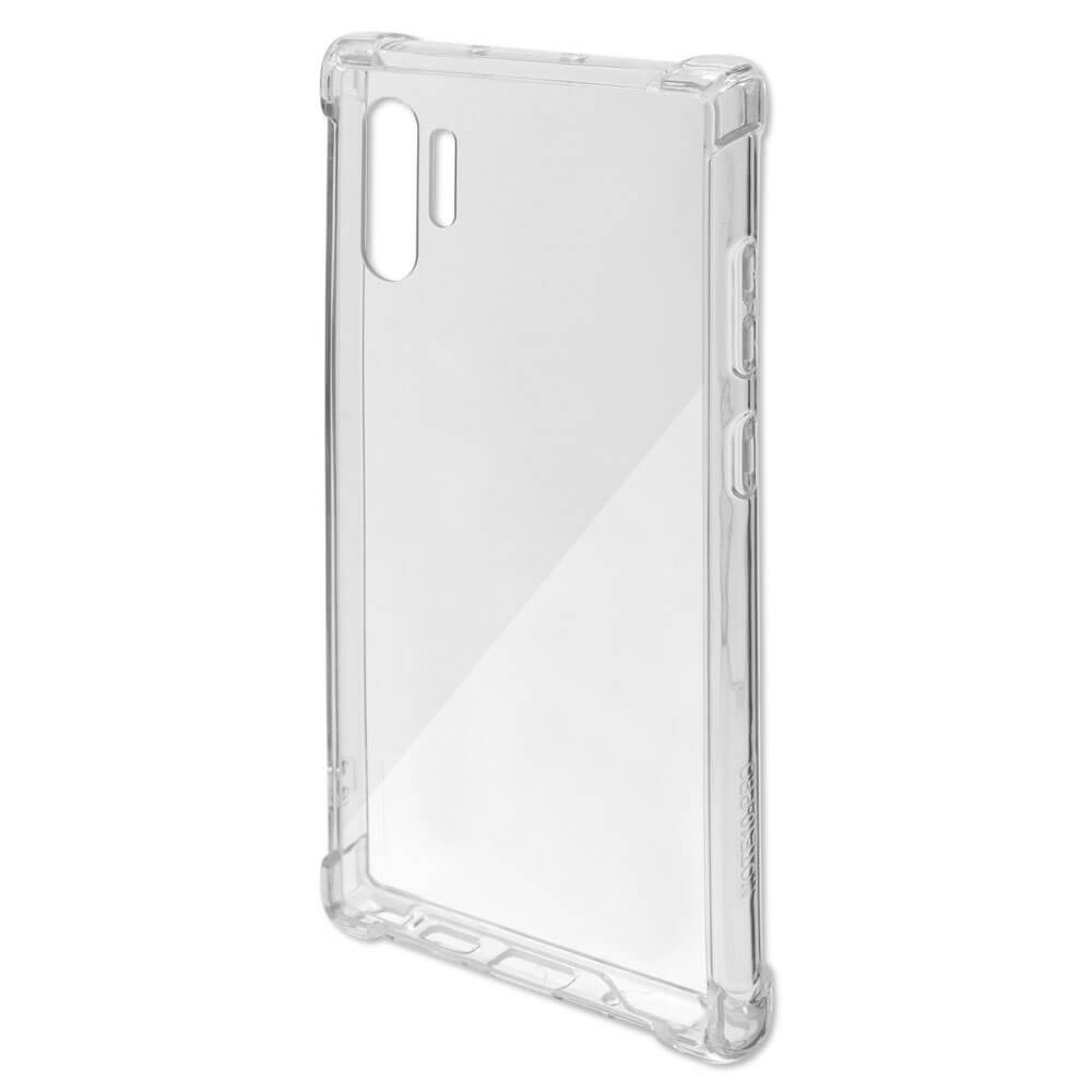 4smarts Hard Cover Ibiza — хибриден удароустойчив кейс за Samsung Galaxy Note 10 Plus, Note 10 Plus 5G (прозрачен) - 3