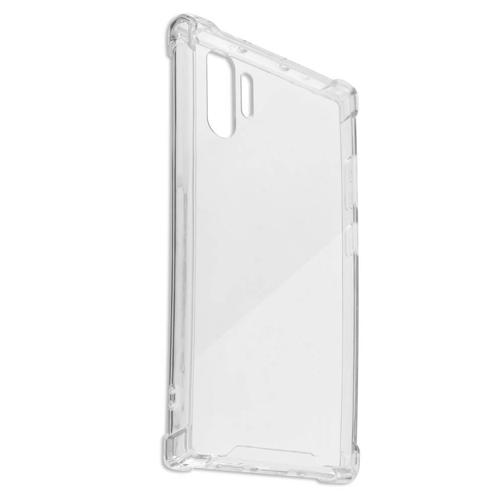 4smarts Hard Cover Ibiza — хибриден удароустойчив кейс за Samsung Galaxy Note 10 Plus, Note 10 Plus 5G (прозрачен) - 2