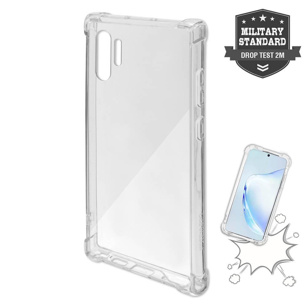 4smarts Hard Cover Ibiza — хибриден удароустойчив кейс за Samsung Galaxy Note 10 Plus, Note 10 Plus 5G (прозрачен) - 1