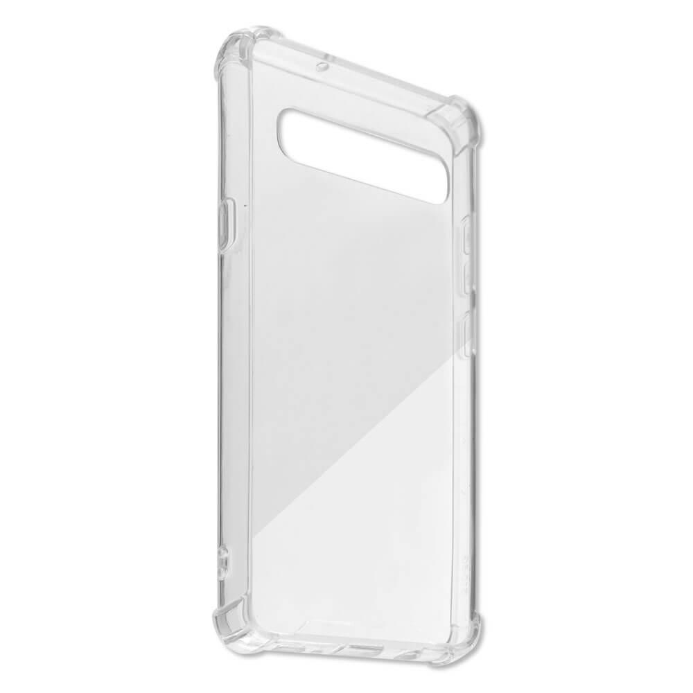 4smarts Hard Cover Ibiza — хибриден удароустойчив кейс за Samsung Galaxy S10 5G (прозрачен) - 3