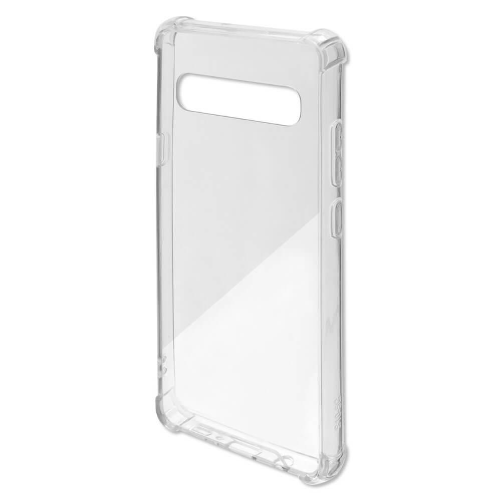 4smarts Hard Cover Ibiza — хибриден удароустойчив кейс за Samsung Galaxy S10 5G (прозрачен) - 2