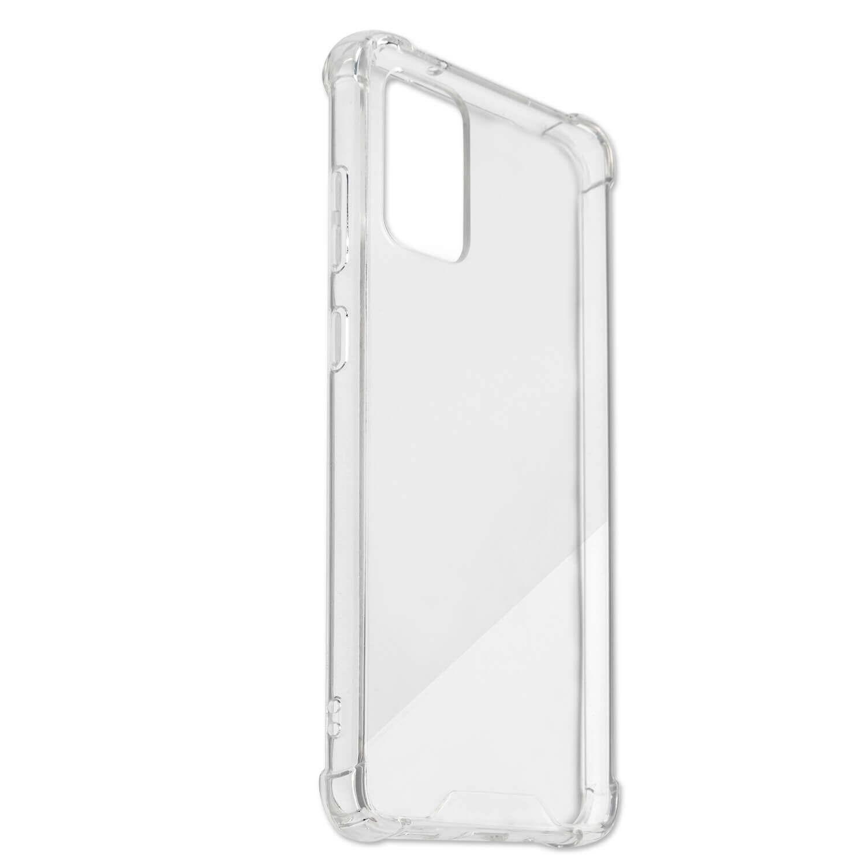 4smarts Hard Cover Ibiza — хибриден удароустойчив кейс за Samsung Galaxy S20 Plus (прозрачен) - 4