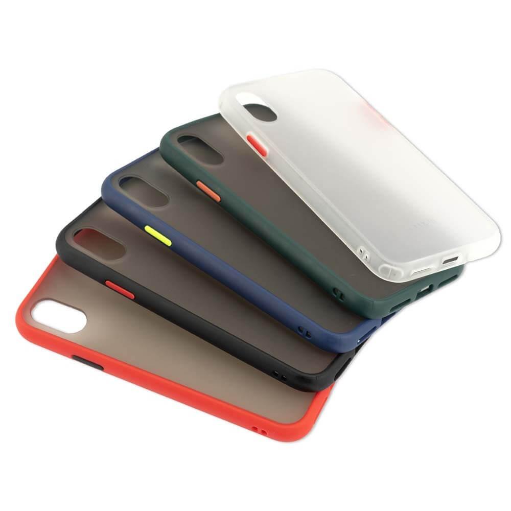 4smarts Hard Cover MALIBU Case — удароустойчив хибриден кейс за Huawei P30 Lite (черен) - 5