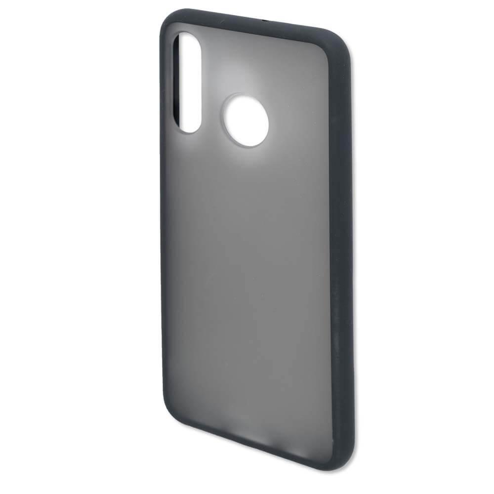 4smarts Hard Cover MALIBU Case — удароустойчив хибриден кейс за Huawei P30 Lite (черен) - 2