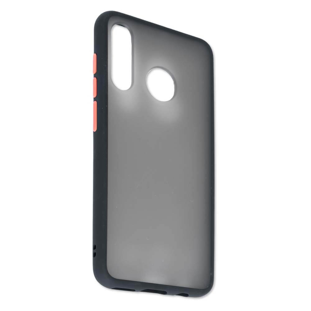 4smarts Hard Cover MALIBU Case — удароустойчив хибриден кейс за Huawei P30 Lite (черен) - 1