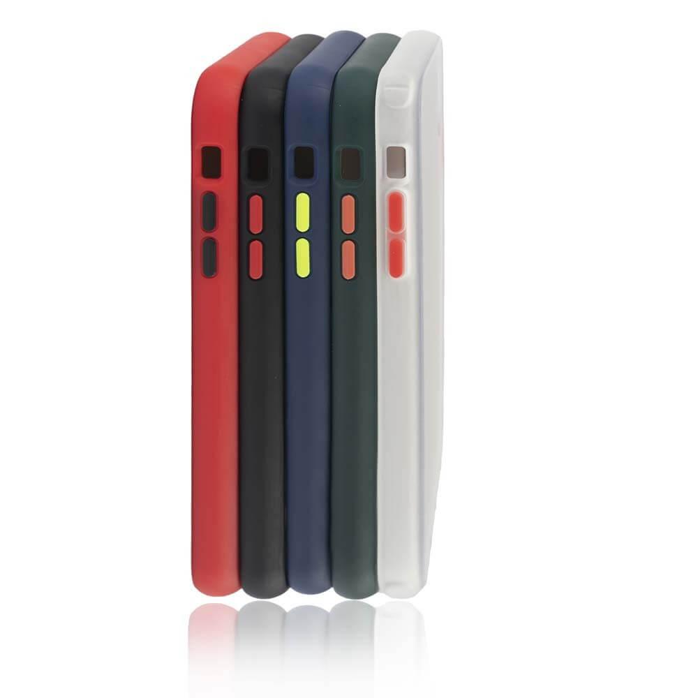 4smarts Hard Cover MALIBU Case — удароустойчив хибриден кейс за iPhone 11 (черен) - 4
