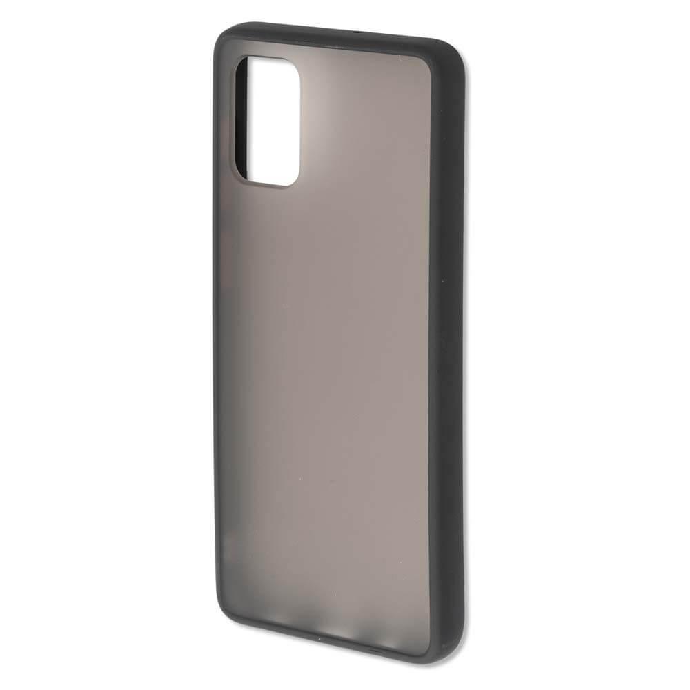 4smarts Hard Cover MALIBU Case — удароустойчив хибриден кейс за Samsung Galaxy A71 (черен) - 1