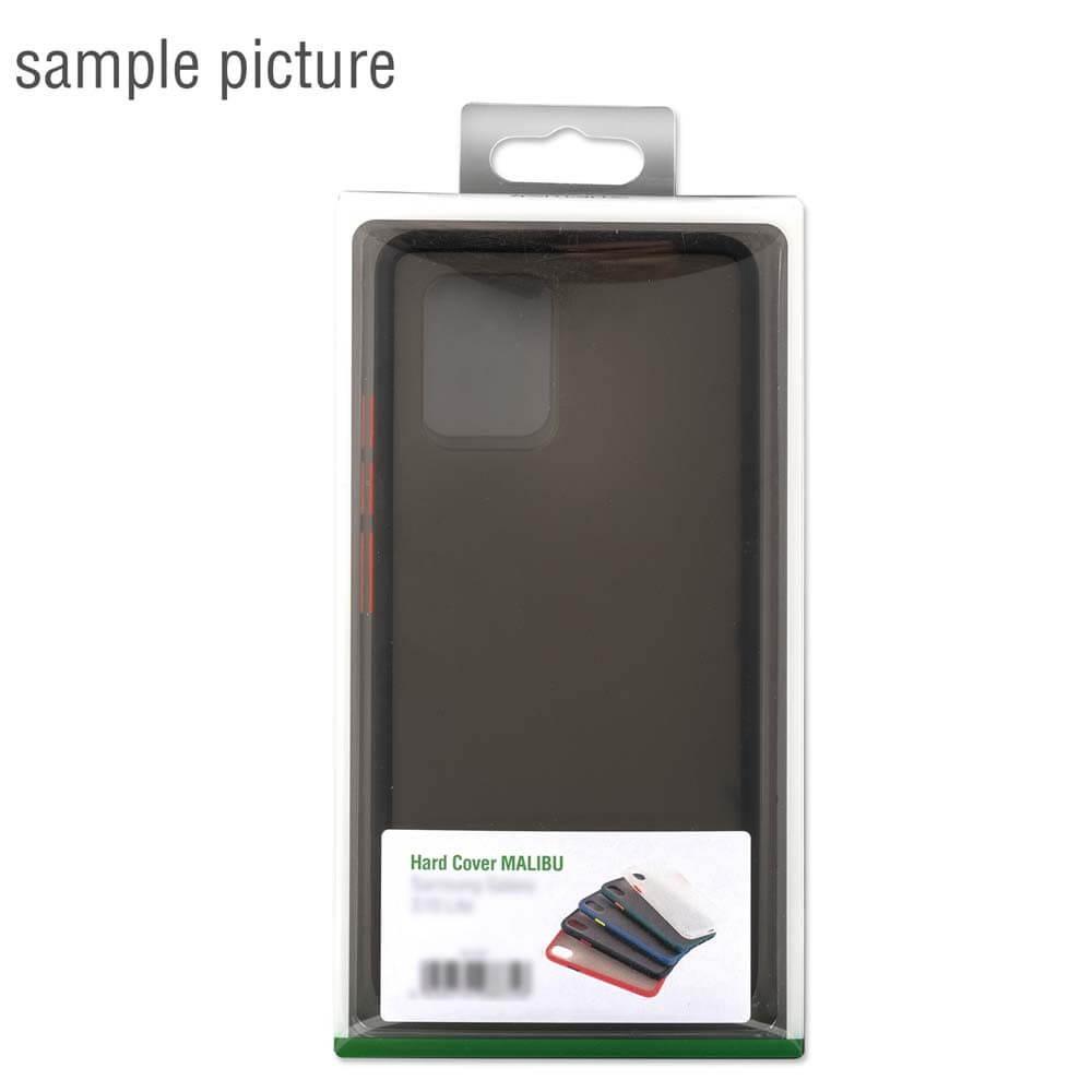 4smarts Hard Cover MALIBU Case — удароустойчив хибриден кейс за Samsung Galaxy A71 (черен) - 4