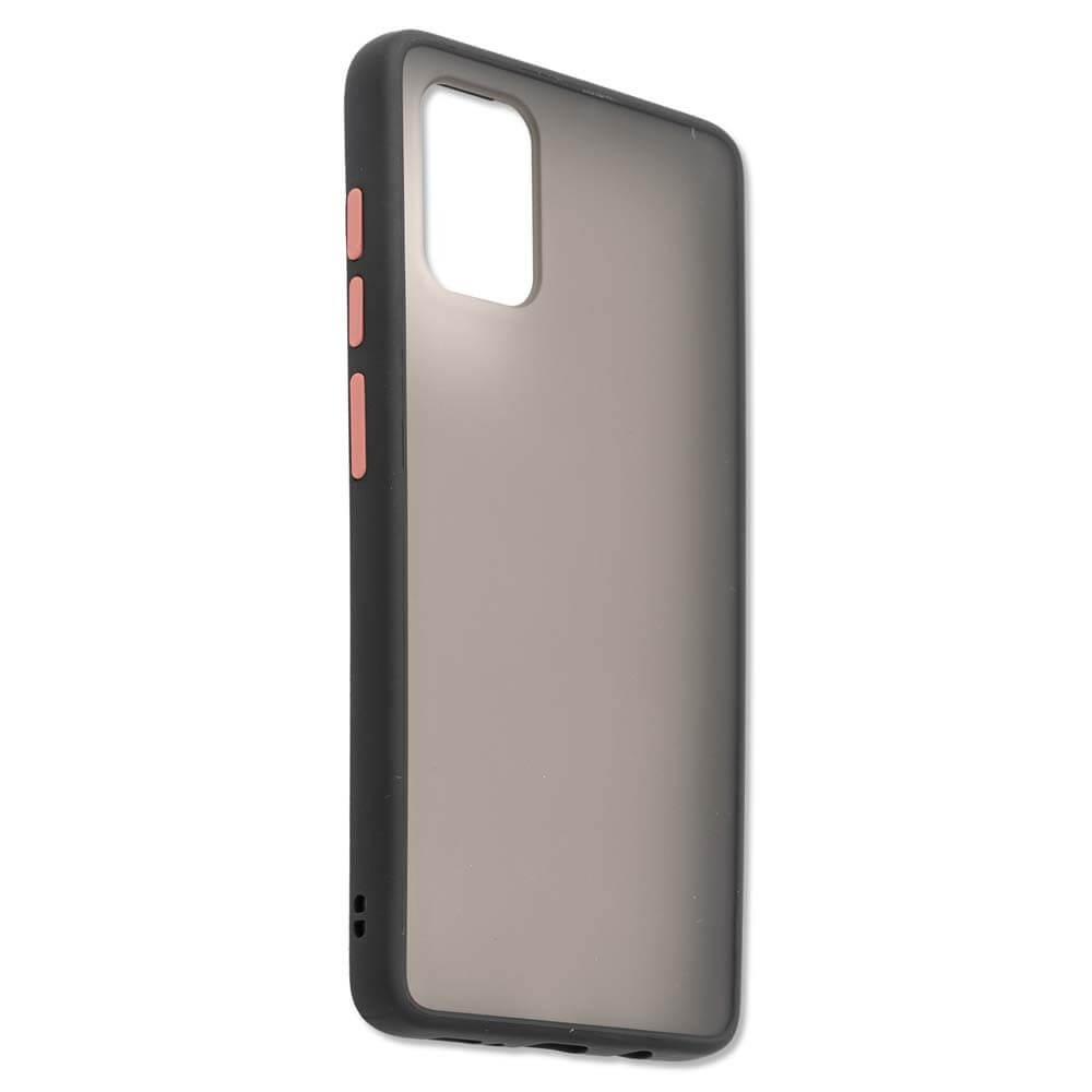4smarts Hard Cover MALIBU Case — удароустойчив хибриден кейс за Samsung Galaxy A71 (черен) - 2