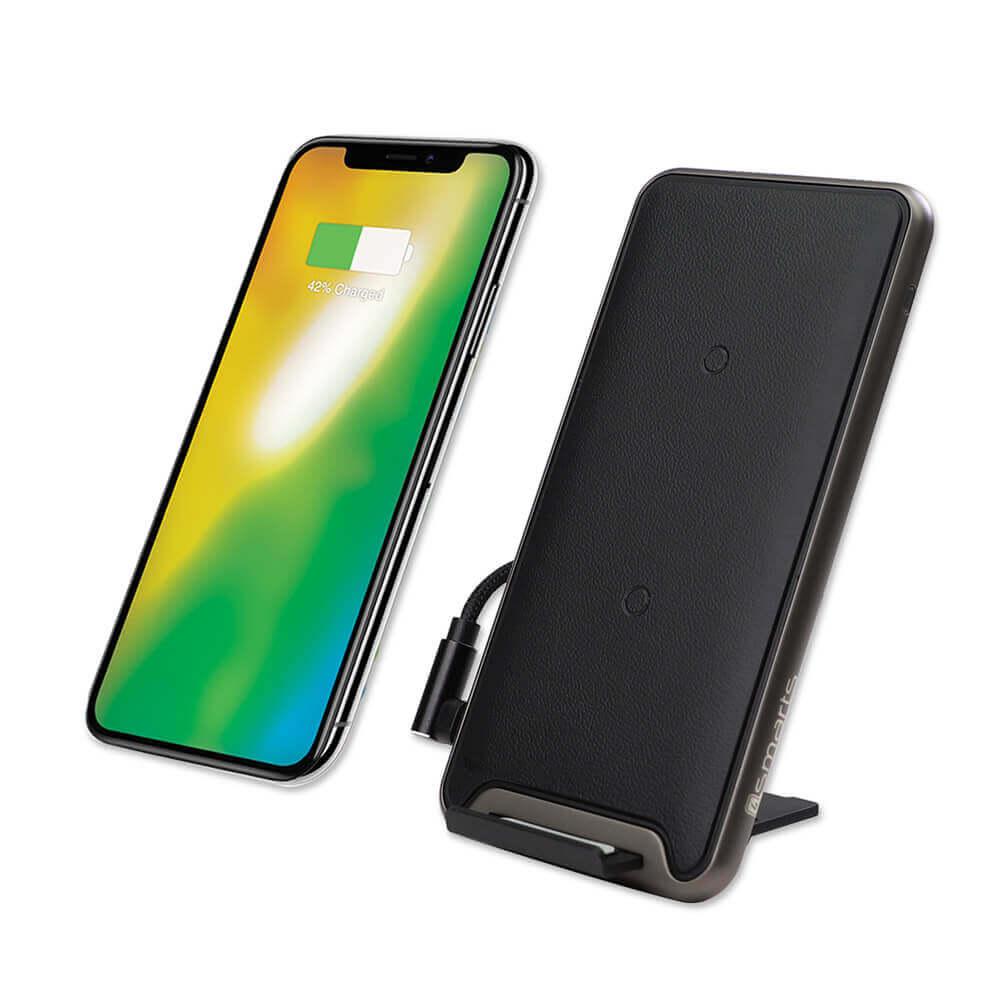 4smarts Inductive Fast Charger VoltBeam Pro 10W — поставка (пад) за безжично захранване за QI съвместими устройства (черен) - 1