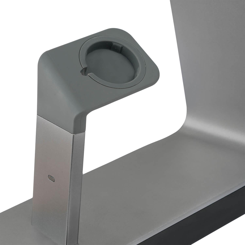 4smarts LED Charging Station LoomiDock — докинг станция за зареждане на iPhone и Apple Watch (черен) - 3
