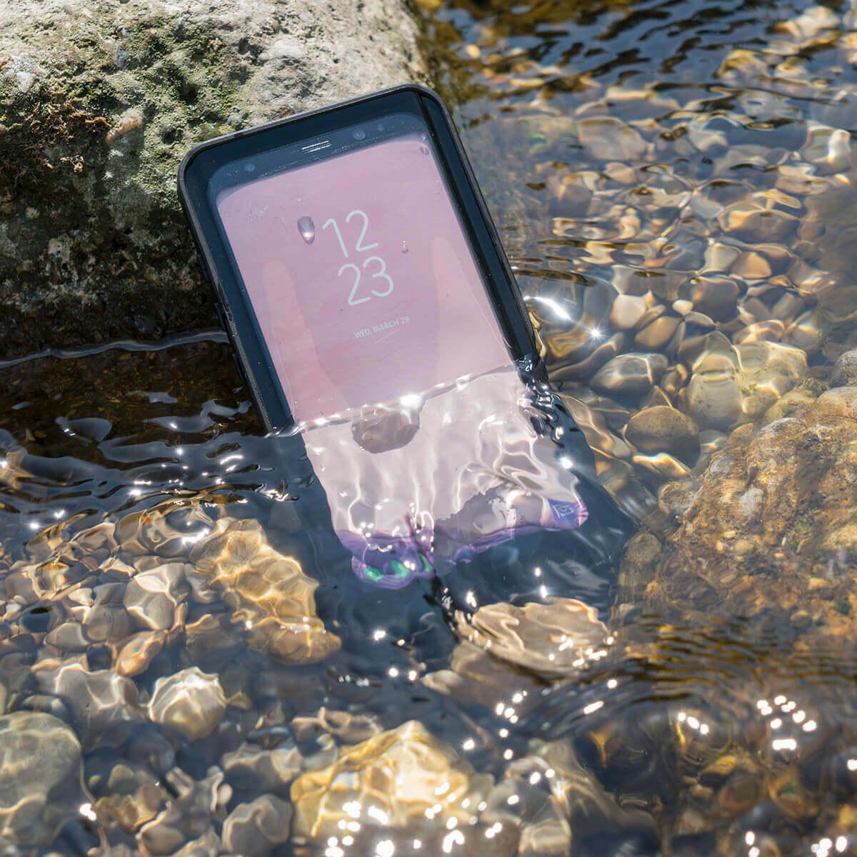 4smarts Rugged Case Active Pro STARK — ударо и водоустойчив калъф за Huawei P30 (черен) - 5