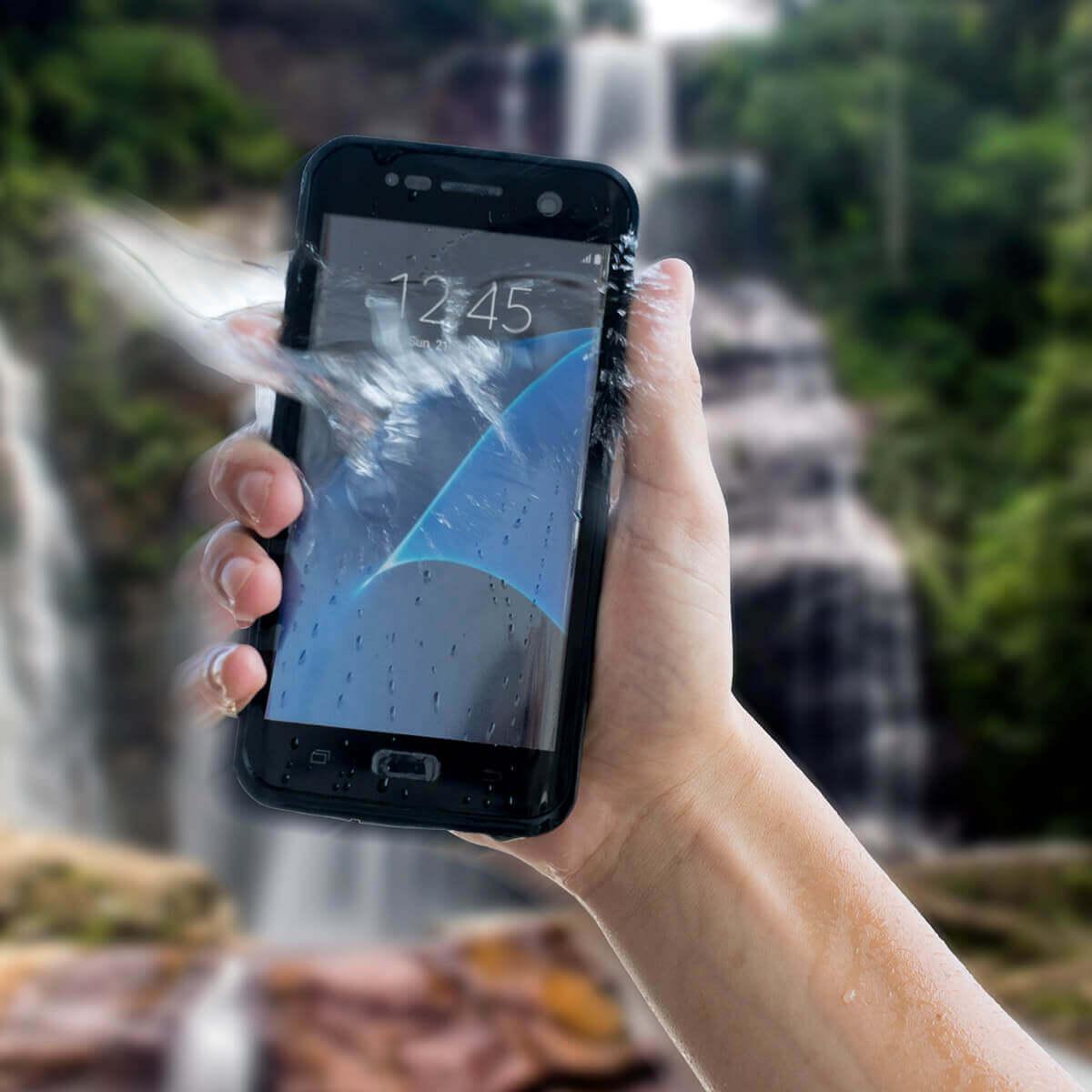4smarts Rugged Case Active Pro STARK — ударо и водоустойчив калъф за Huawei P30 (черен) - 3