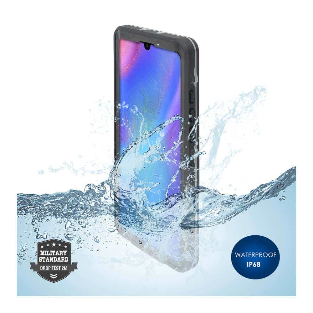 4smarts Rugged Case Active Pro STARK — ударо и водоустойчив калъф за Huawei P30 Pro (черен) - 1