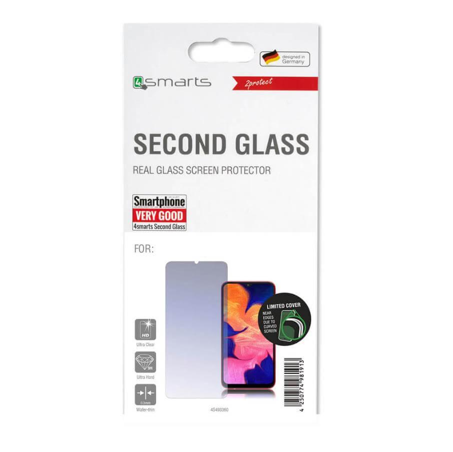 4smarts Second Glass 2D Limited Cover — калено стъклено защитно покритие за дисплея на Huawei P Smart Z (прозрачен) - 2