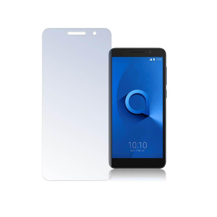 4smarts Second Glass — калено стъклено защитно покритие за дисплея на Alcatel 1 (прозрачен) - 1