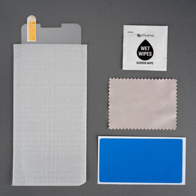 4smarts Second Glass — калено стъклено защитно покритие за дисплея на Alcatel 1 (прозрачен) - 3