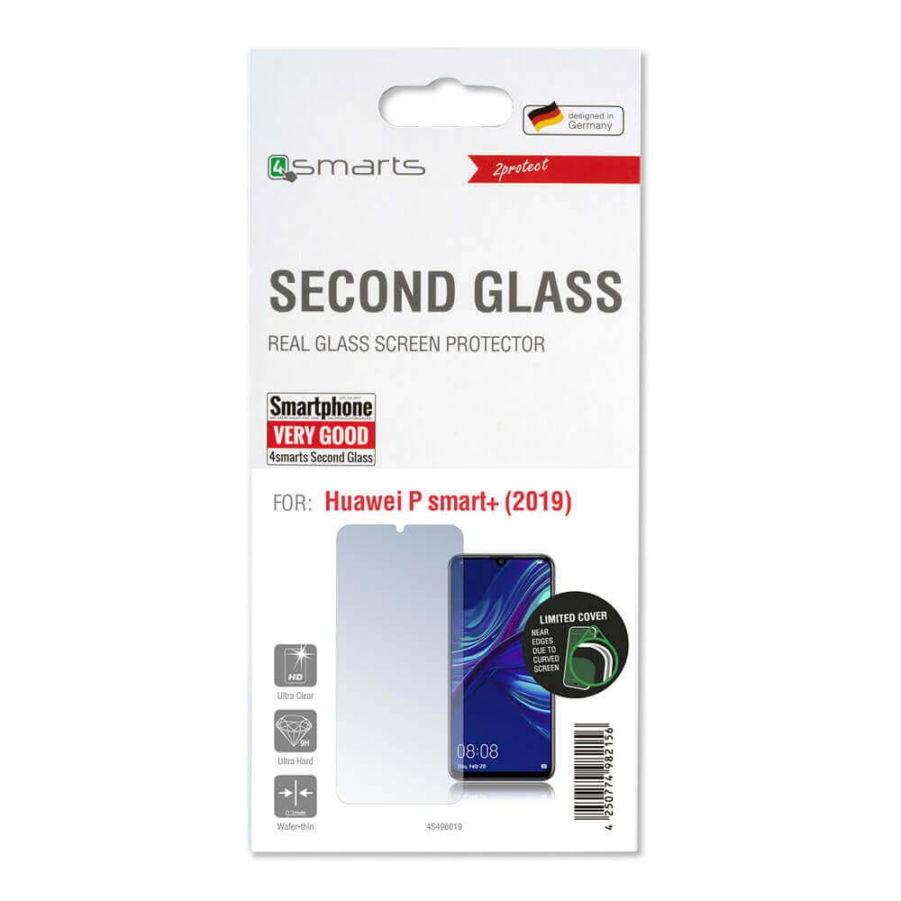 4smarts Second Glass — калено стъклено защитно покритие за дисплея на Huawei P Smart Plus (2019) (прозрачен) - 3