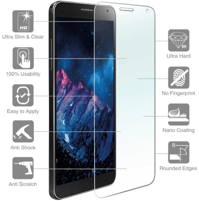 4smarts Second Glass — калено стъклено защитно покритие за дисплея на iPhone 11 Pro Max, iPhone XS Max (прозрачен) - 4