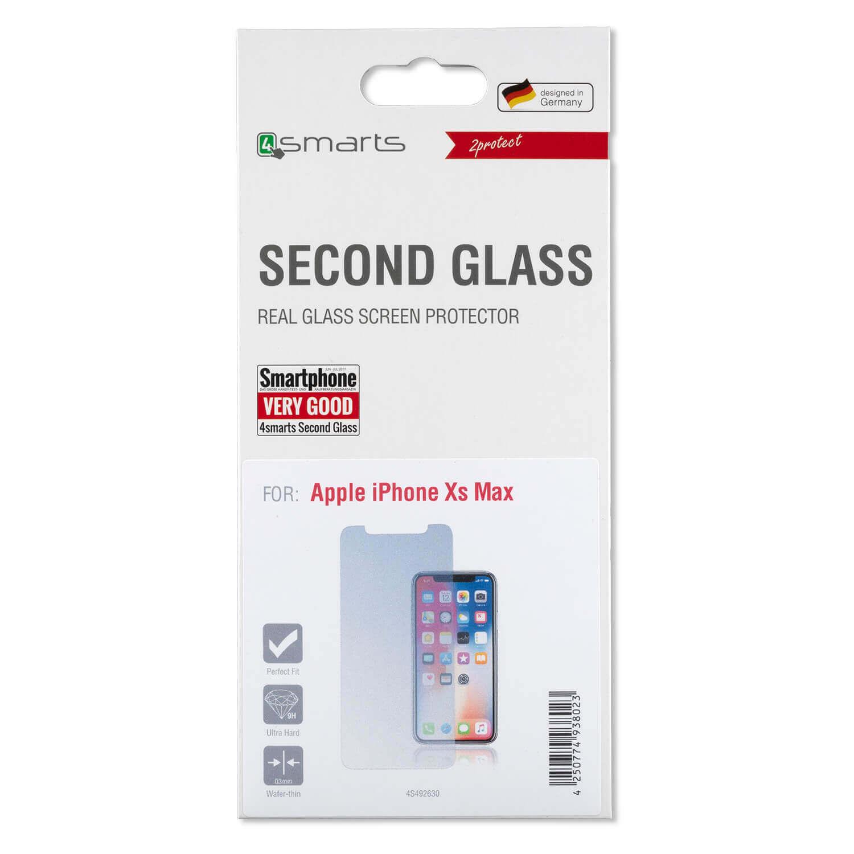 4smarts Second Glass — калено стъклено защитно покритие за дисплея на iPhone 11 Pro Max, iPhone XS Max (прозрачен) - 2