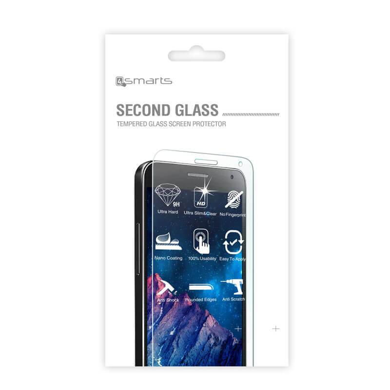 4smarts Second Glass — калено стъклено защитно покритие за дисплея на LG X Cam (прозрачен) - 2