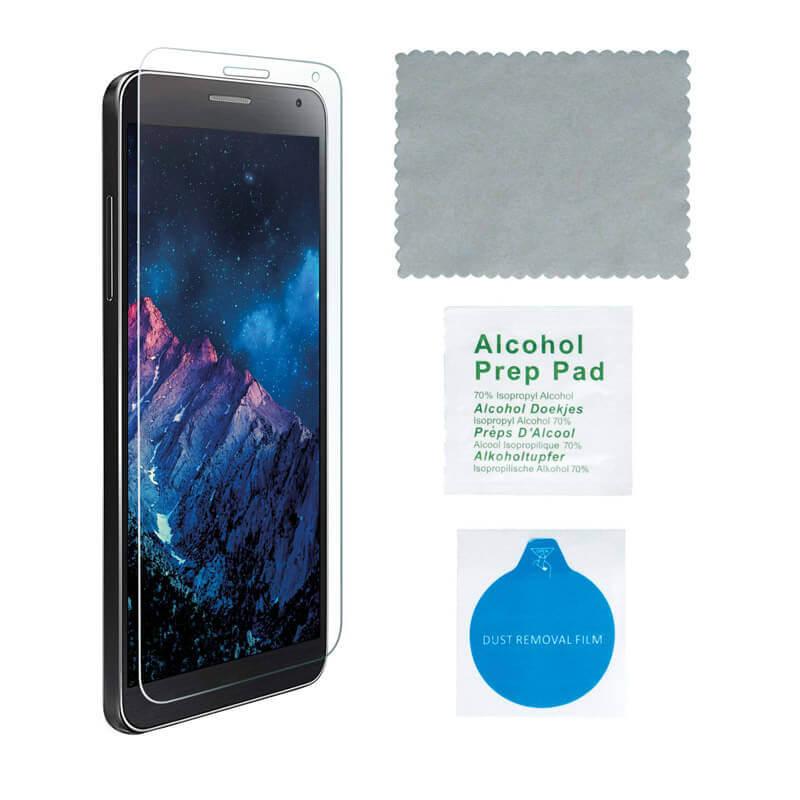 4smarts Second Glass — калено стъклено защитно покритие за дисплея на LG X Cam (прозрачен) - 3