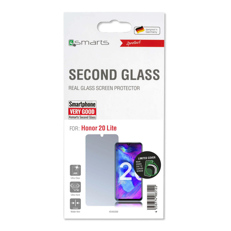 4smarts Second Glass Limited Cover — калено стъклено защитно покритие за дисплея на Huawei Honor 20 Lite (прозрачен) - 2