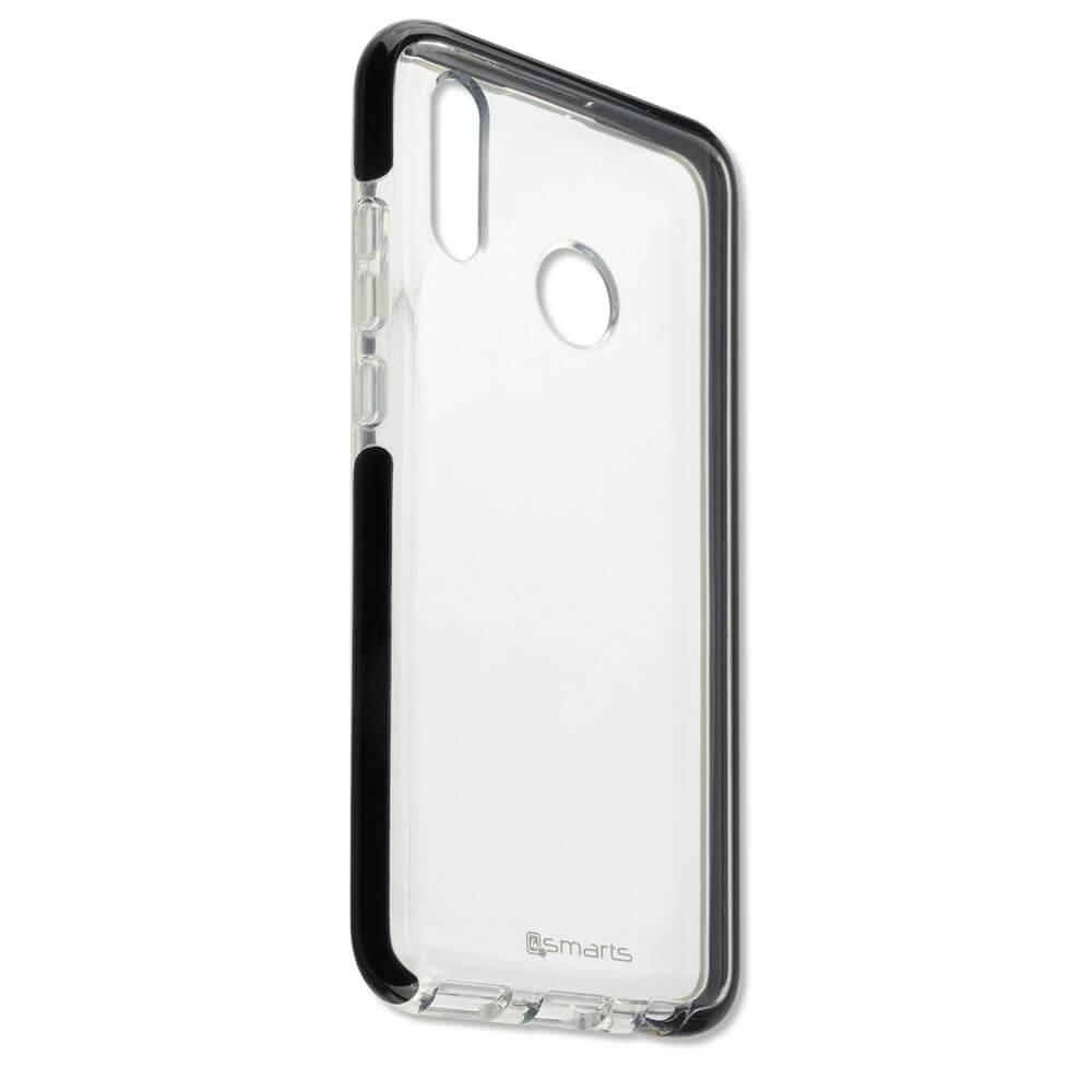 4smarts Soft Cover Airy Shield — хибриден удароустойчив кейс за Huawei P Smart (2019) (черен-прозрачен) - 3