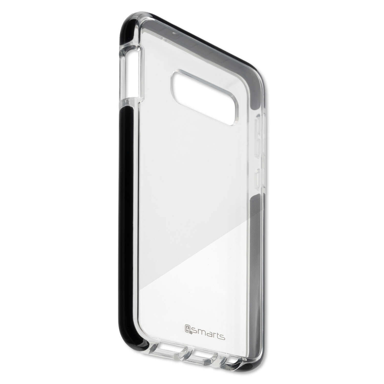 4smarts Soft Cover Airy Shield — хибриден удароустойчив кейс за Samsung Galaxy S10E (черен-прозрачен) - 2