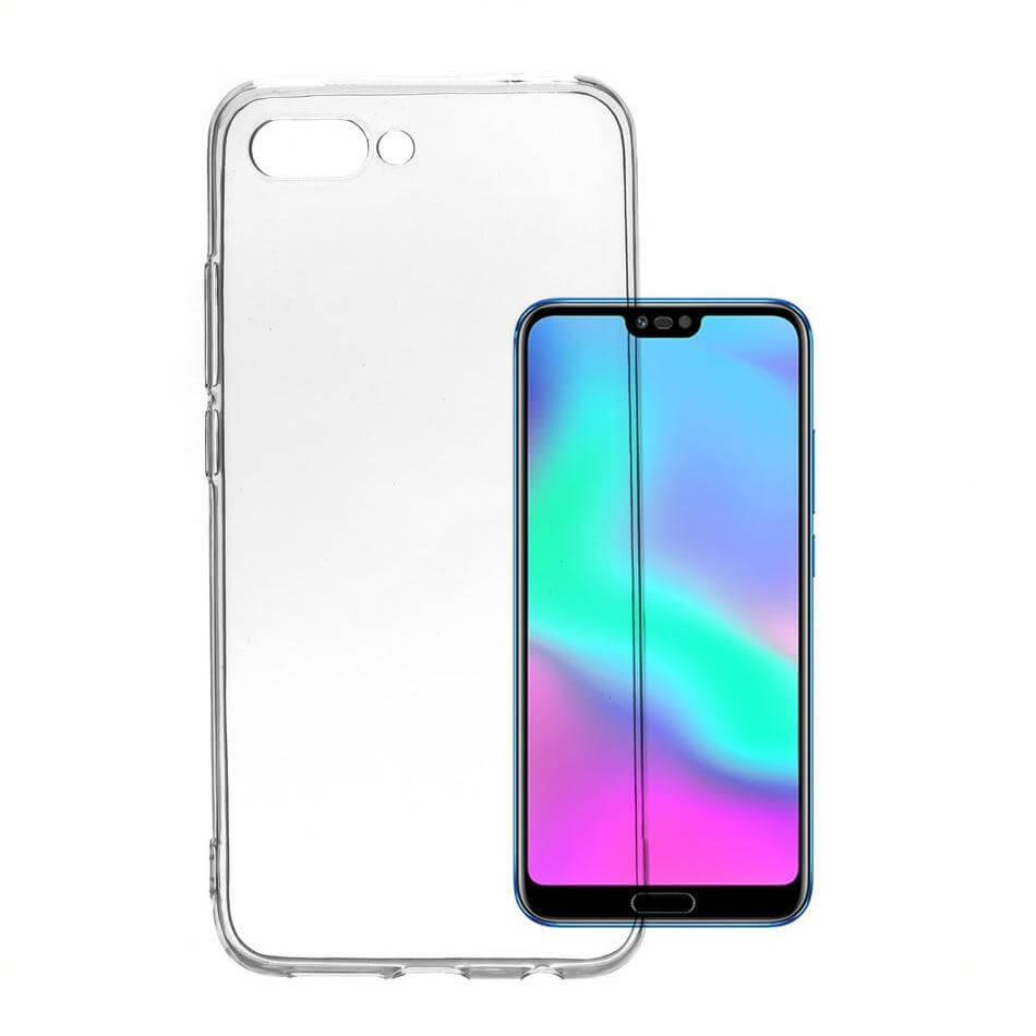 4smarts Soft Cover Invisible Slim — тънък силиконов кейс за Huawei Honor 20 Lite (прозрачен) (bulk) - 1