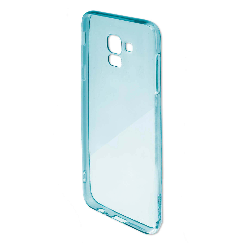 4smarts Soft Cover Invisible Slim — тънък силиконов кейс за Huawei Y5 (2018) (син) - 4