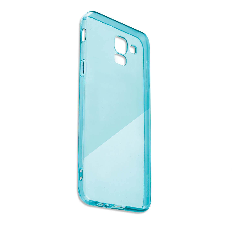 4smarts Soft Cover Invisible Slim — тънък силиконов кейс за Huawei Y5 (2018) (син) - 2