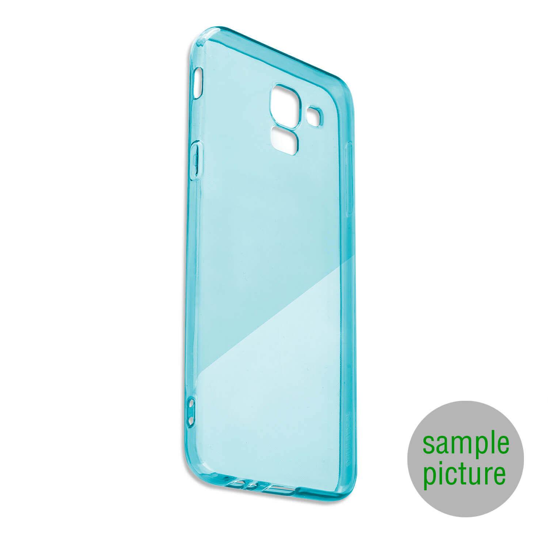 4smarts Soft Cover Invisible Slim — тънък силиконов кейс за Huawei Y5 (2018) (син) - 1