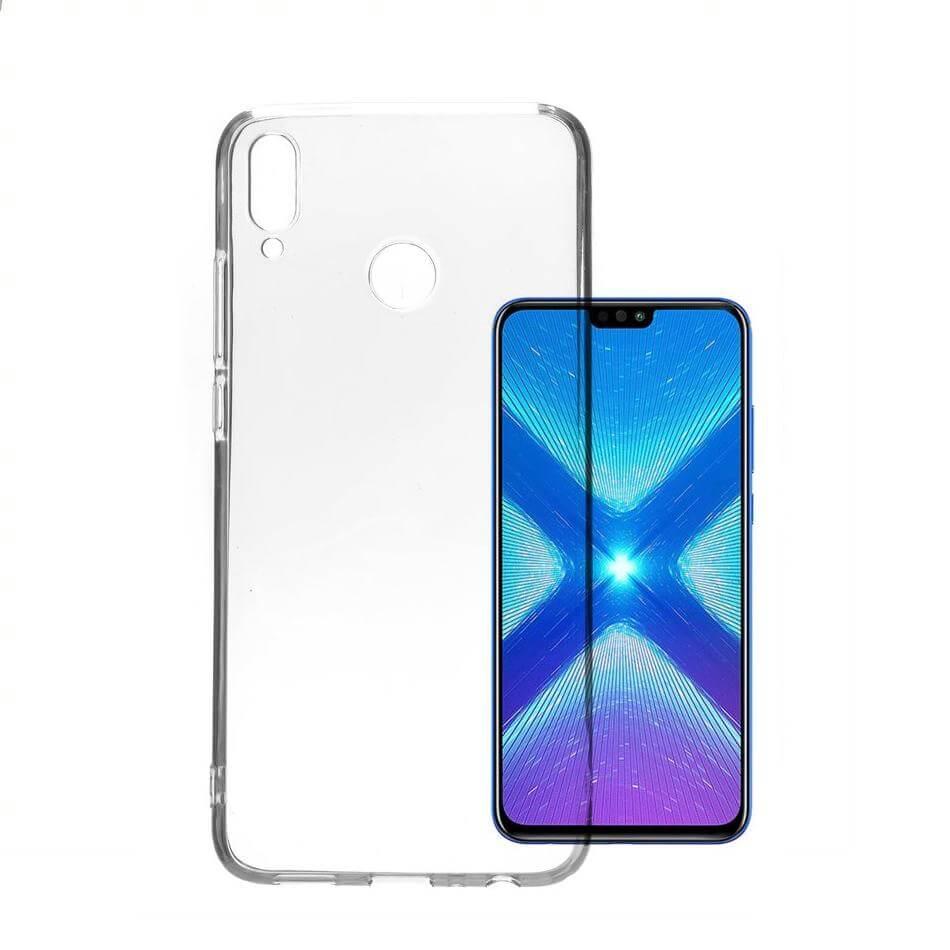 4smarts Soft Cover Invisible Slim — тънък силиконов кейс за Huawei Y5 (2019) (прозрачен) (bulk) - 1