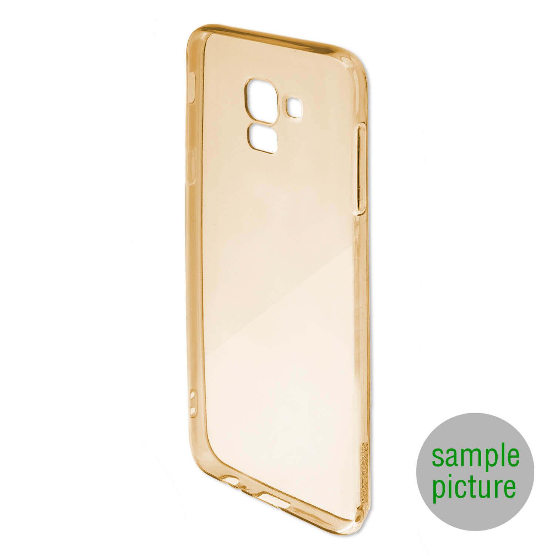 4smarts Soft Cover Invisible Slim — тънък силиконов кейс за iPhone XS Max (златист) - 2