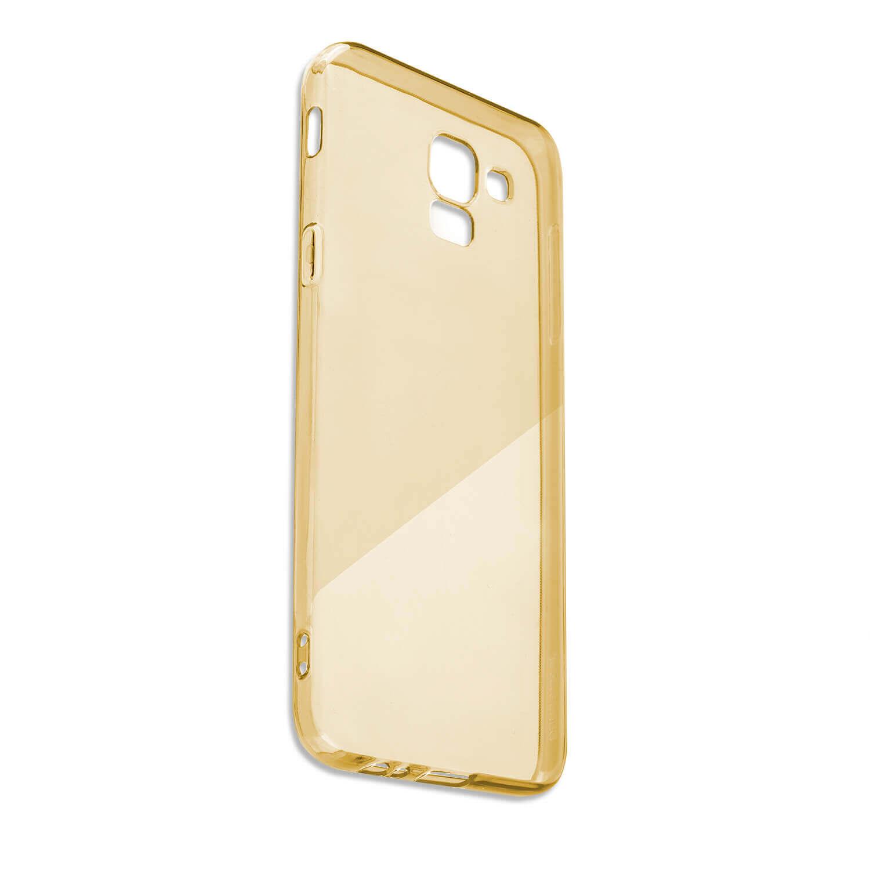 4smarts Soft Cover Invisible Slim — тънък силиконов кейс за iPhone XS Max (златист) - 3