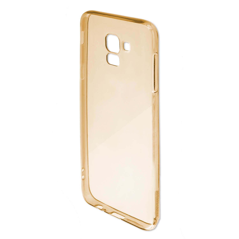 4smarts Soft Cover Invisible Slim — тънък силиконов кейс за iPhone XS Max (златист) - 5