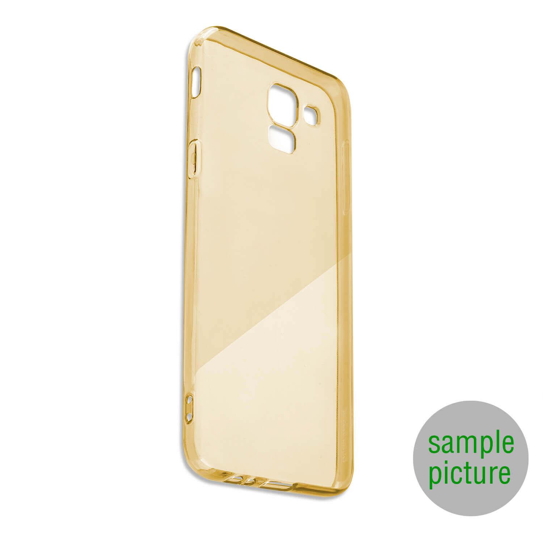 4smarts Soft Cover Invisible Slim — тънък силиконов кейс за iPhone XS Max (златист) - 1