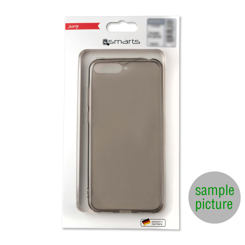 4smarts Soft Cover Invisible Slim — тънък силиконов кейс за Nokia 7.2 (черен) - 5