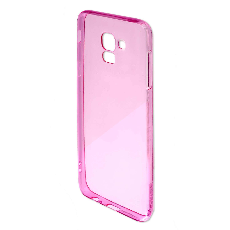 4smarts Soft Cover Invisible Slim — тънък силиконов кейс за Samsung Galaxy A10 (лилав) (bulk) - 5